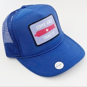 Accessories - COME AND TAKE IT Snapback Trucker Hat OSFM NEW